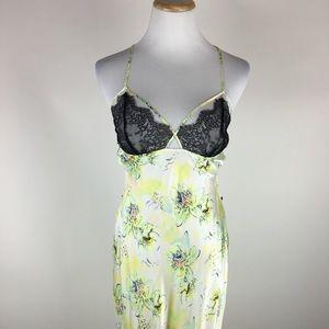 Victoria's Secret silk and lace night gown Medium
